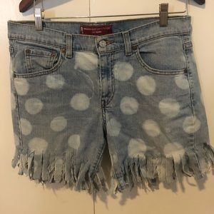 Custom Made Jean Shorts